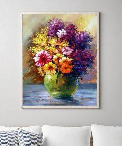 Spring Flowers - Pictură pe numere