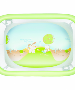 Tarc de joaca Carino Plebani, 72x103x80 cm, verde