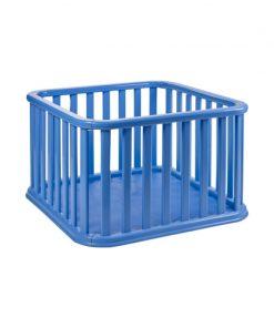 Tarc de joaca Recinto Plebani, suporta maxim 14 kg, 100 x 100 x 65 cm, albastru