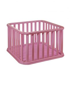 Tarc de joaca Recinto Plebani, suporta maxim 14 kg, 100 x 100 x 65 cm, roz