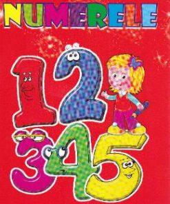 Numerele - Carte de colorat