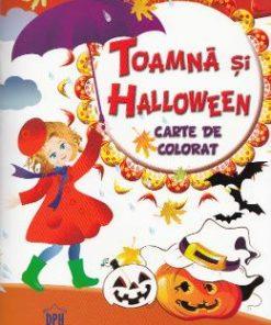 Toamna si Halloween - Carte de colorat