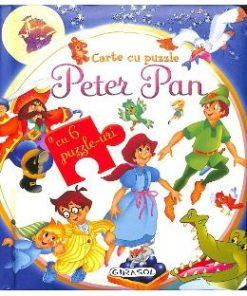 Peter Pan. Carte cu puzzle