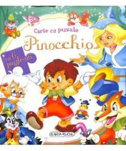 Pinocchio. Carte cu puzzle