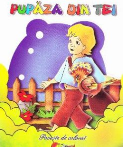 Pupaza din tei - Carte de colorat - Ion Creanga