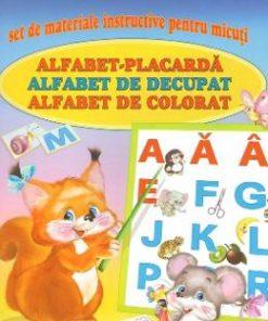 O carte - trei alfabete - Set de materiale instructive pentru micuti