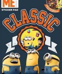 Despicable Me, Classic sticker pad. Carte cu stickere