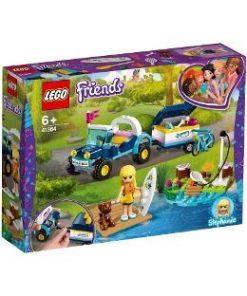 Lego Friends. Vehiculul cu remorca al Stephaniei