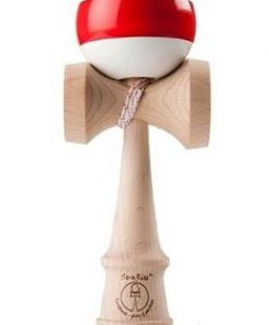 Kendama - Sunrise Stripes Classic Competition White+red
