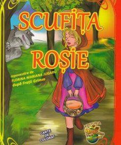 Scufita Rosie. Carte de colorat
