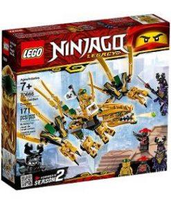 Lego Ninjago. Dragonul de aur