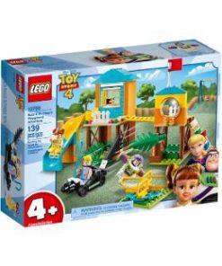 Lego Toy Story 4. Aventura lui Buzz si Bo Peep pe terenul de joaca