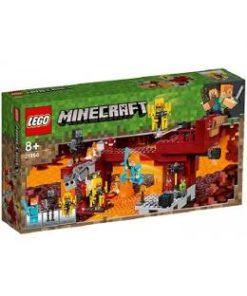 Lego Minecraft Podul flacarilor