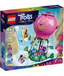Lego Trolls World Tour. Aventura lui Poppy cu balonul cu aer cald