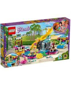 Lego Friends. Petrecerea la piscina a Andreei