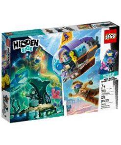 Lego Hidden Side. Submarinul lui J.B.
