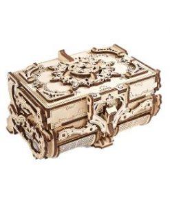 Antique Box mechanical. Cutie antica de bijuterii