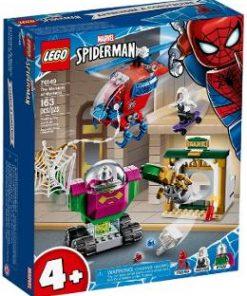 Lego Marvel Spiderman. Amenintarea lui Mysterio