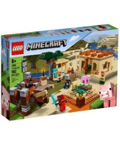Lego Minecraft. Raidul Illager
