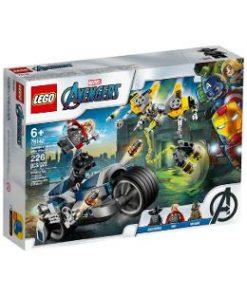 Lego Marvel Avengers. Atacul razbunatorilor cu motociclete