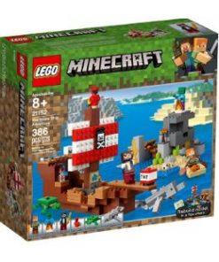 Lego Minecraft. Aventura corabiei de pirati