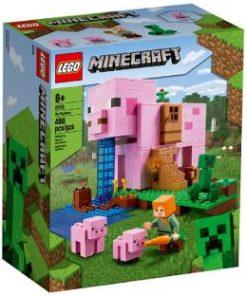 Lego Minecraft. Casa purcelusilor