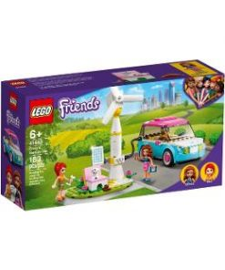 Lego Friends. Masina electrica a Oliviei