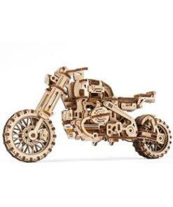 Scrambler UGR-10 Motor Bike with Sidecar. Motocicleta cu atas