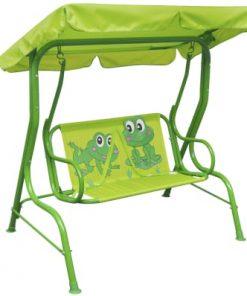 vidaXL Leagăn pentru copii, verde