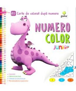 Numero Color Junior Plus - Carte de colorat dupa numere