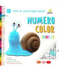 Numero Color initiat - Carte de colorat dupa numere