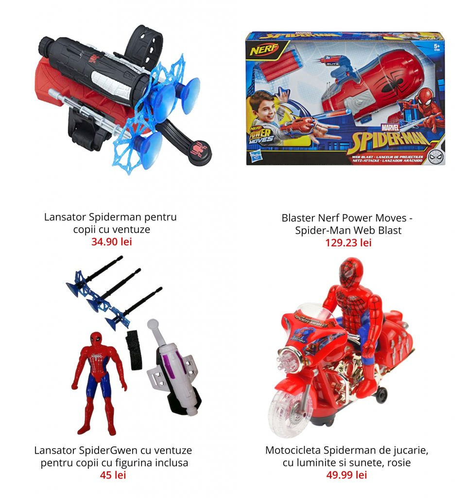 Ghiozdan mini Spiderman, 2 compartimente